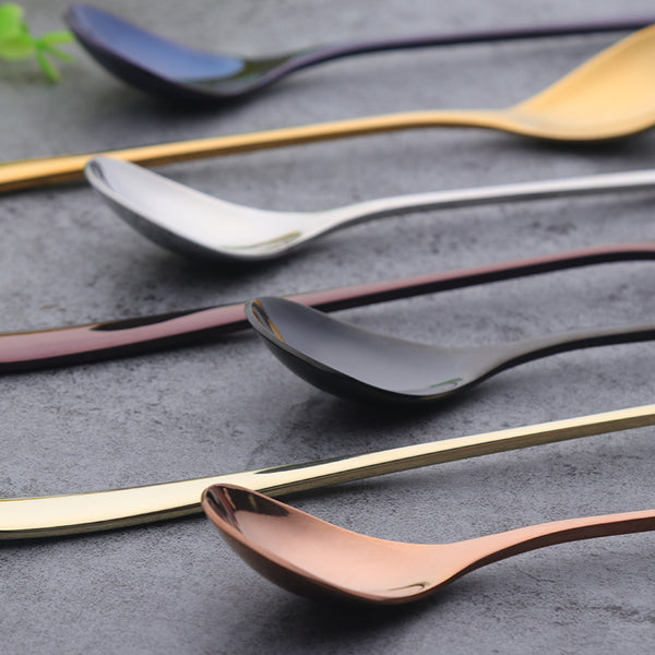 Mixed Color Long Handle Spoon