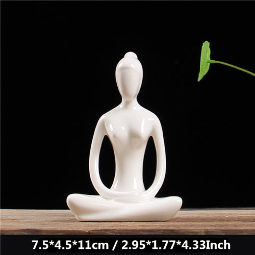 Yoga Figurines