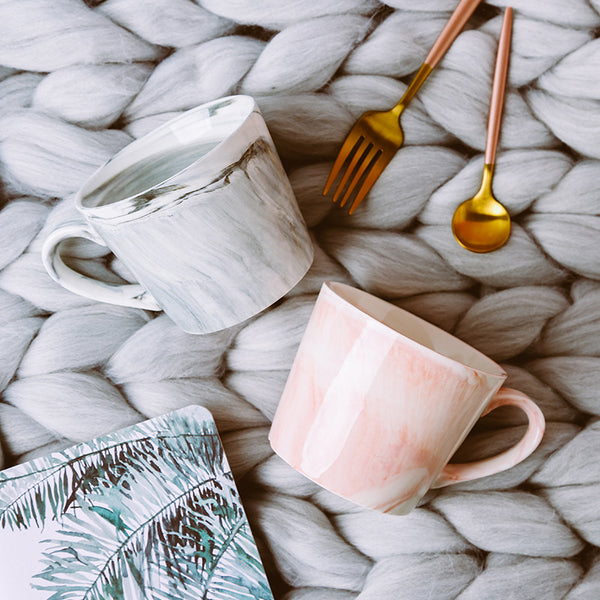 Creative Marble Pattern Coffee Mug