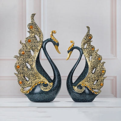 Luxury Swan Figurine