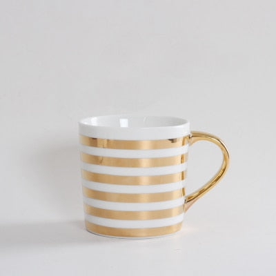 Nordic Golden Coffee Mug
