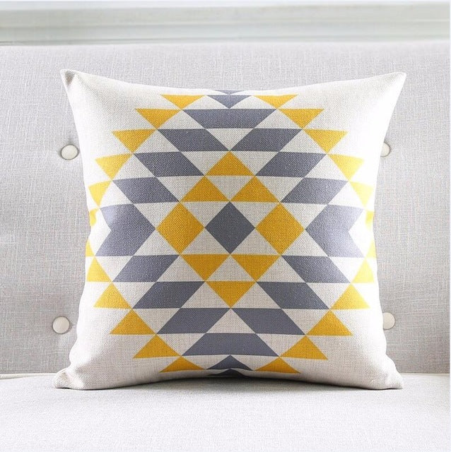 Modern Geo Pillowcase