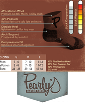 Load image into Gallery viewer, Original Pearly - The Finest Cold Weather Biking Sock in the World.