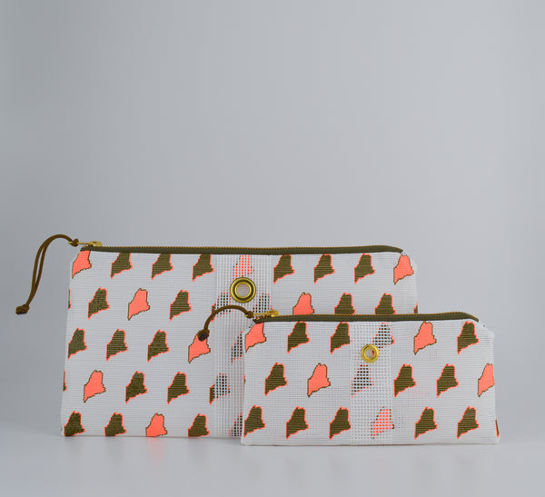 Limited Edition Maine Print Clutch