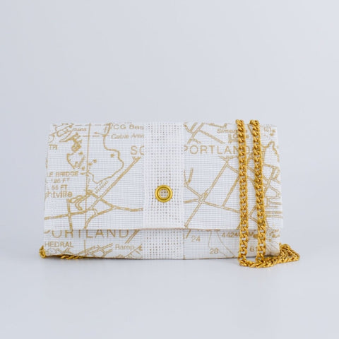 Conley Crossbody in Gold Chart