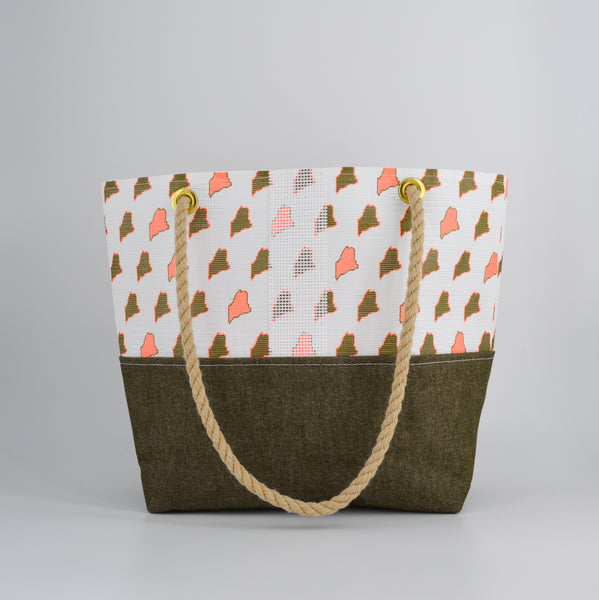 Limited Edition Maine Print Tote