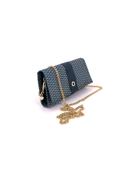 Conley Crossbody in Gold & Marine