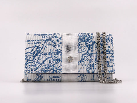 Conley Crossbody in Sailor Blue Chart