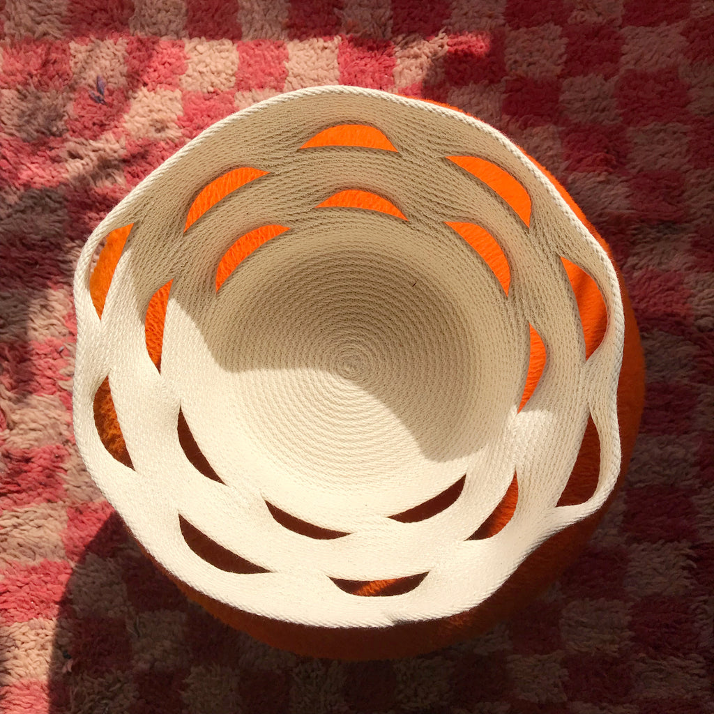 Cracked Basin Basket