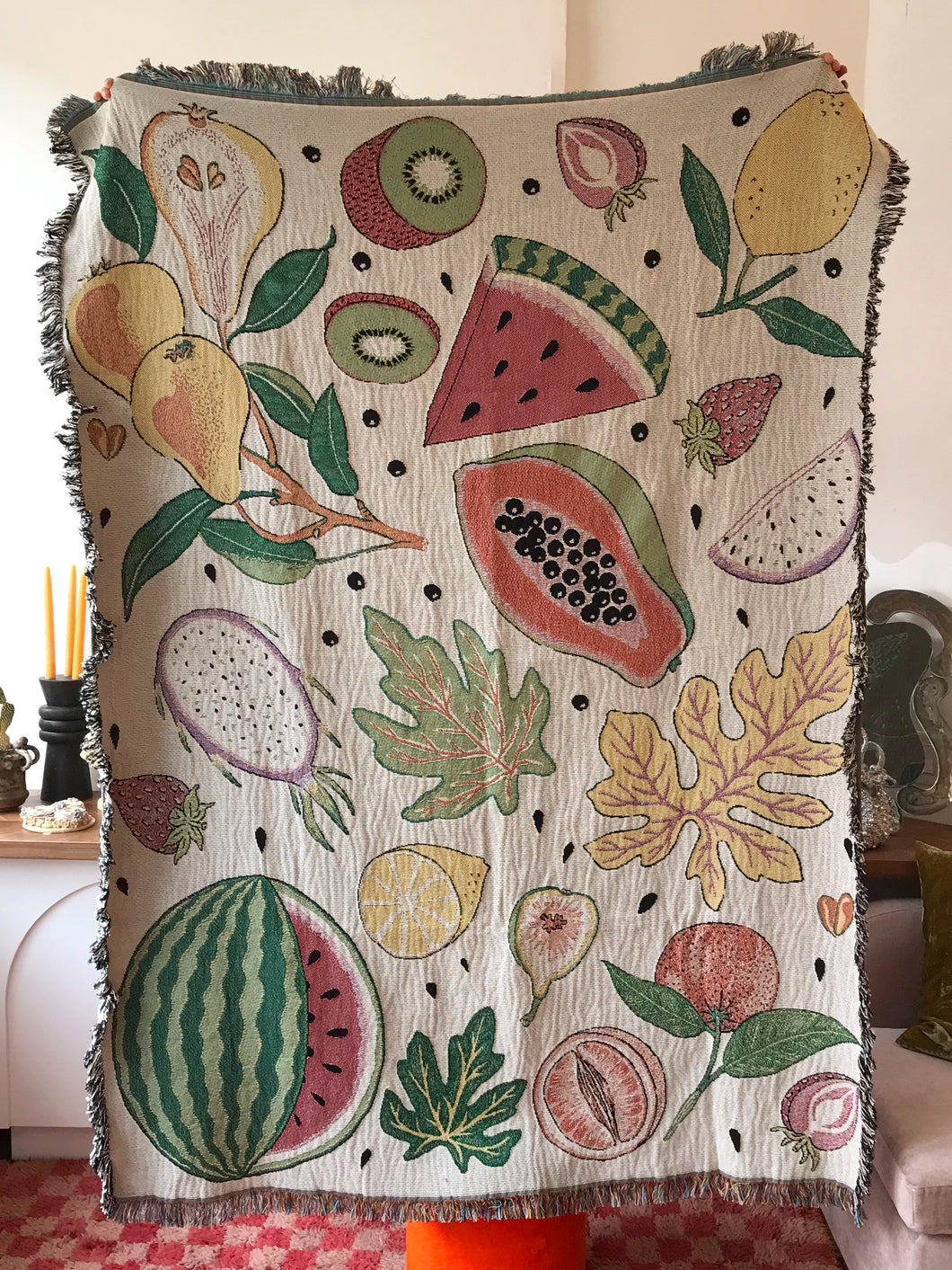 Forbidden Fruit Throw Blanket