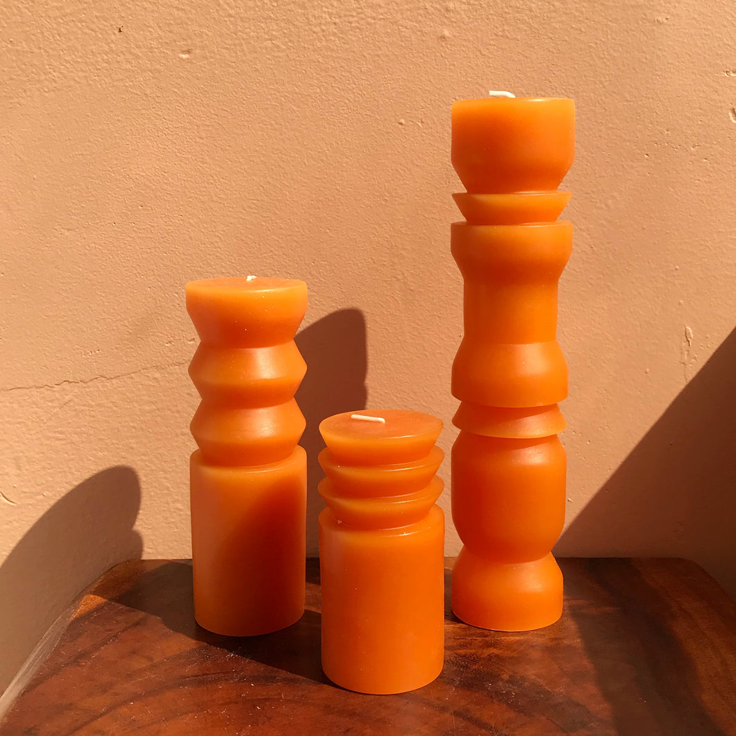 Terracotta Totem Candles