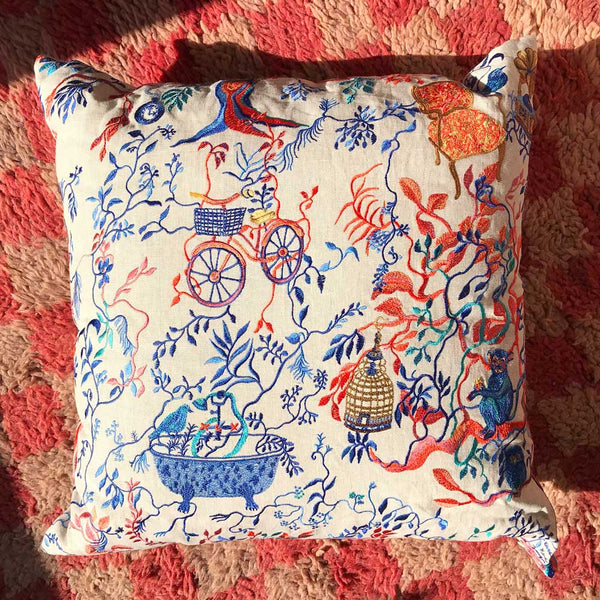 Wonderland Afternoon Pillow