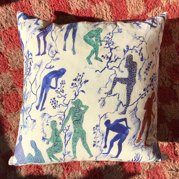 Silhouettes II Pillow
