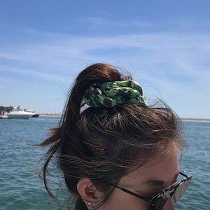 Marbled Silk Scrunchie!