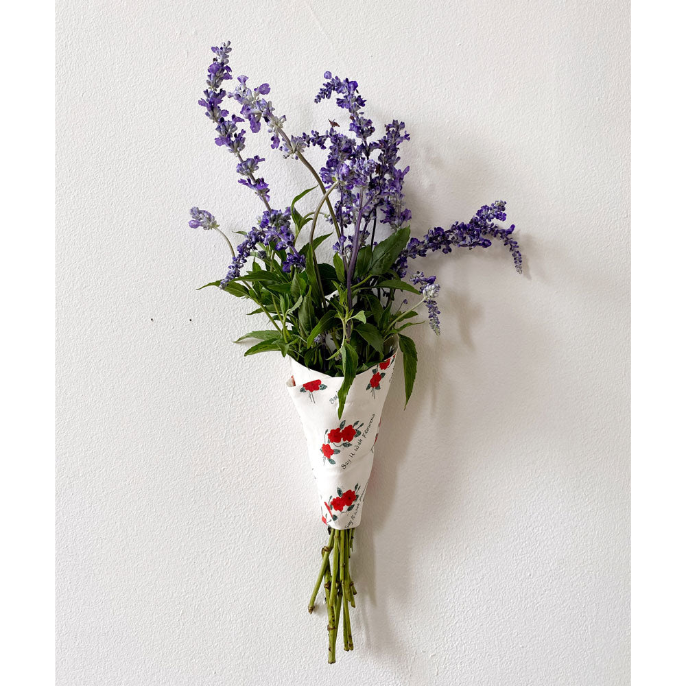 Say it with Flowers! Wall Pocket Vase