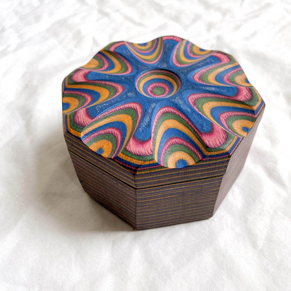 Wooden Trinket Box/Salt Cellar