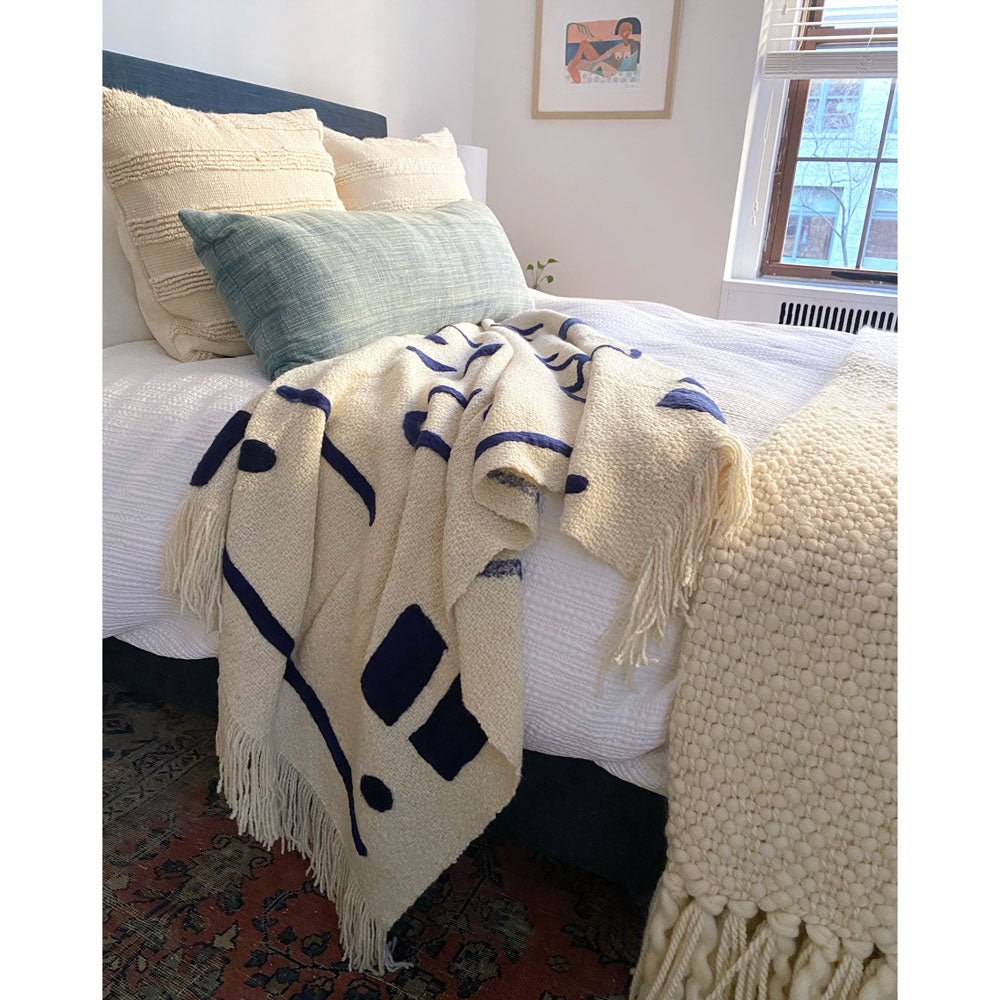Abstract Shapes Throw Blanket