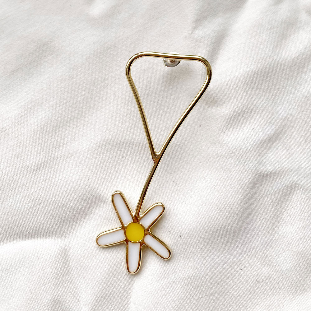 Daisy Popper Earring - 14K Gold Plated