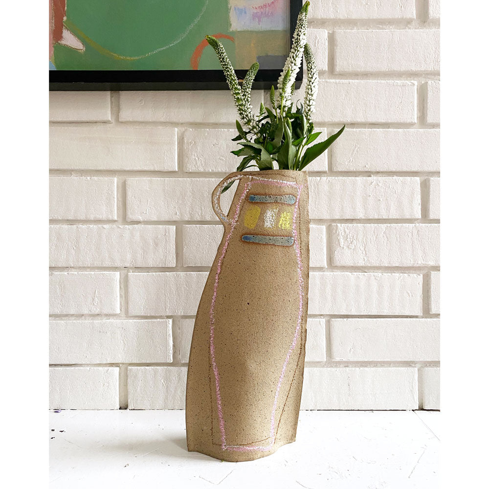 Tall Speckle Vase