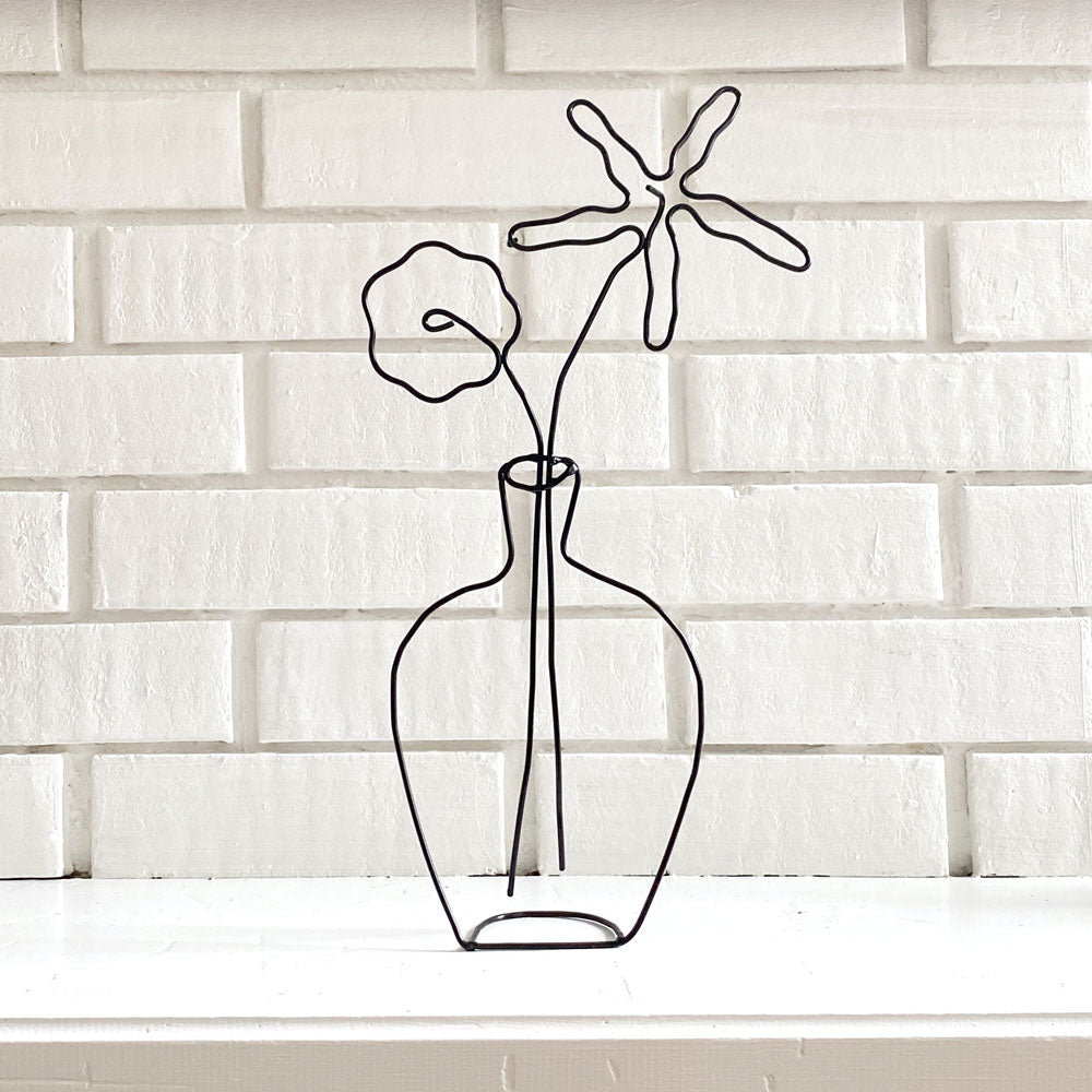 Mini Flower Vase Sculpture