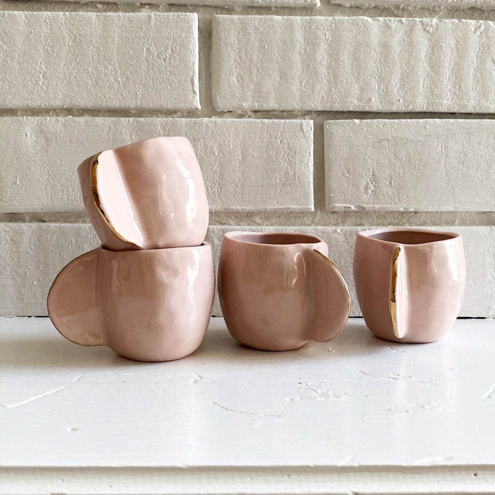 Blush Espresso Cups - Set of 4