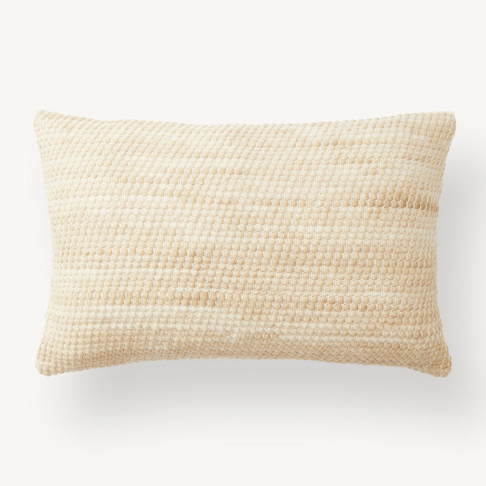 Sheila Lumbar Pillow, Wheat