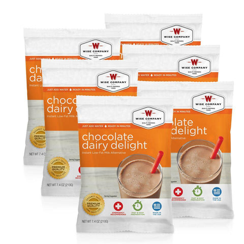NEW Chocolate Dairy Delight - 6 PACK - Endure Disasters