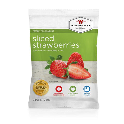 NEW Sliced Strawberries- 6 PACK - Endure Disasters