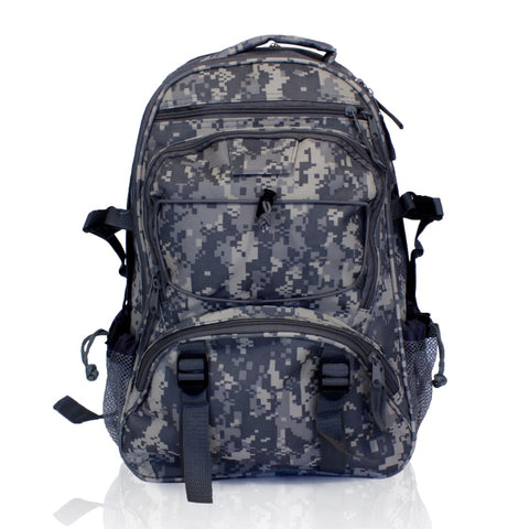 2 Person Deluxe Survival Kit (72+ Hours) Camouflage Backpack