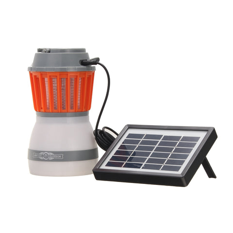 2-in-1 Portable Mosquito Lamp With Solar Panel - Endure Disasters