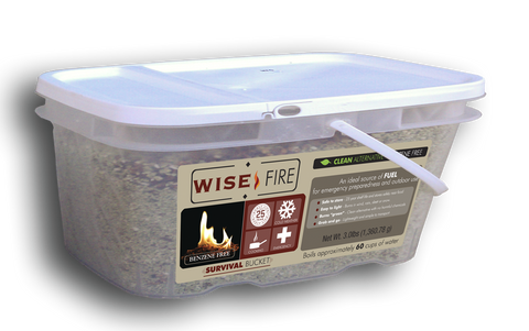 1 Gallon Bucket Wise Fire - Endure Disasters