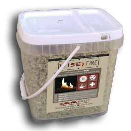 2 Gallon Bucket Wise Fire - Endure Disasters