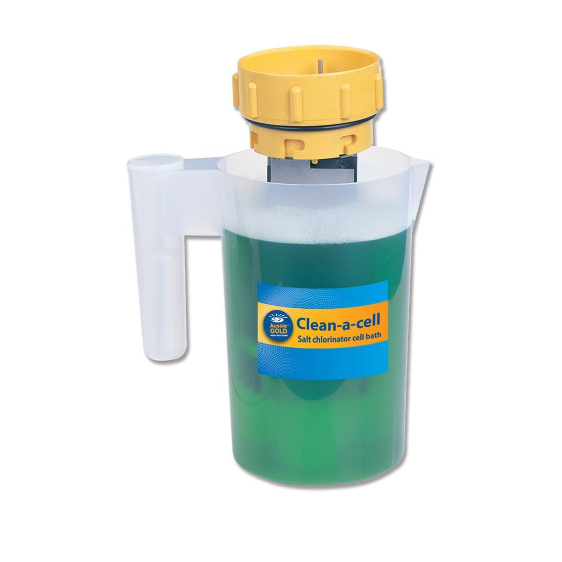 Aussie Gold Clean A Cell Jug - Chlorinator Cell Cleaning Kit-Cleaning Equipment-Mr Pool Man