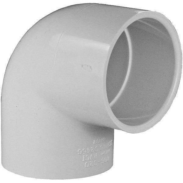PVC Fitting Elbow 90 50mm-PVC Fittings-Mr Pool Man