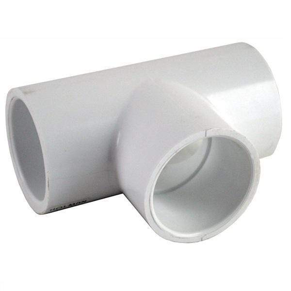 PVC Fitting Tee 50mm-PVC Fittings-Mr Pool Man