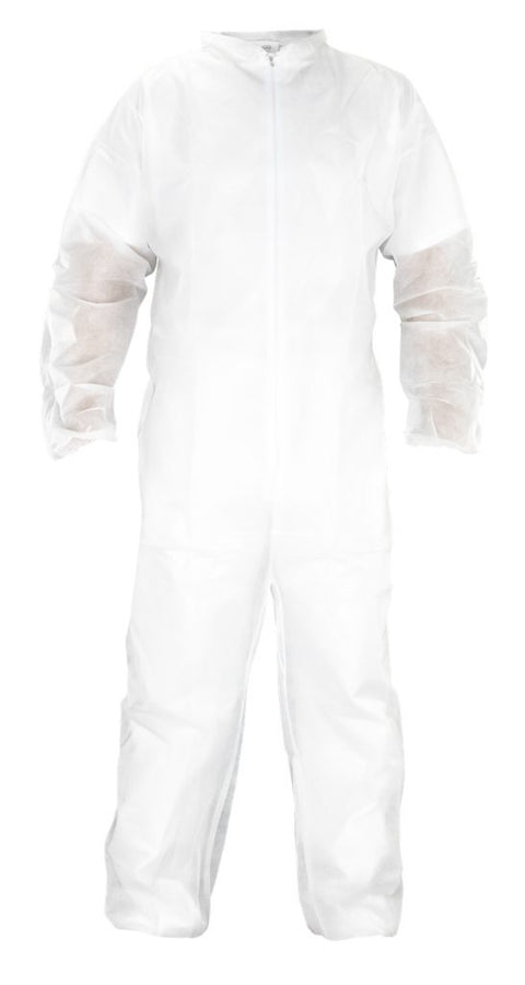 SAS POLYPROPYLENE DISPOSABLE HOODED COVERALLS
