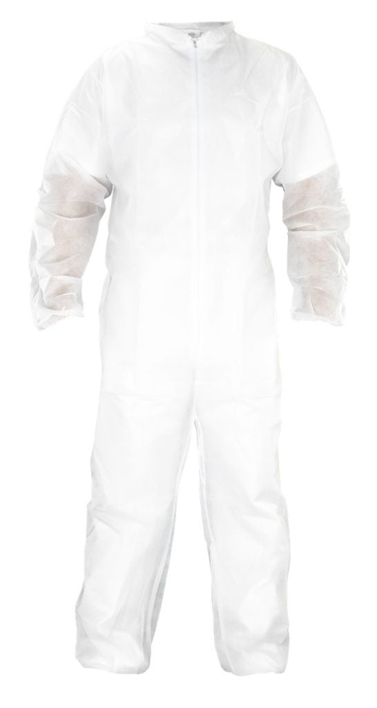 SAS Polypropylene Disposable Hooded Coverall