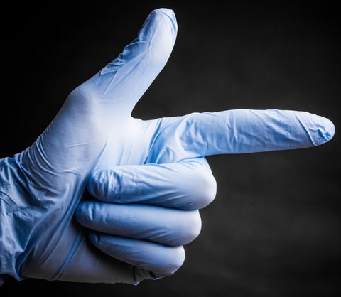 OXYTECH ANTIMICROBIAL GLOVES (BOX)