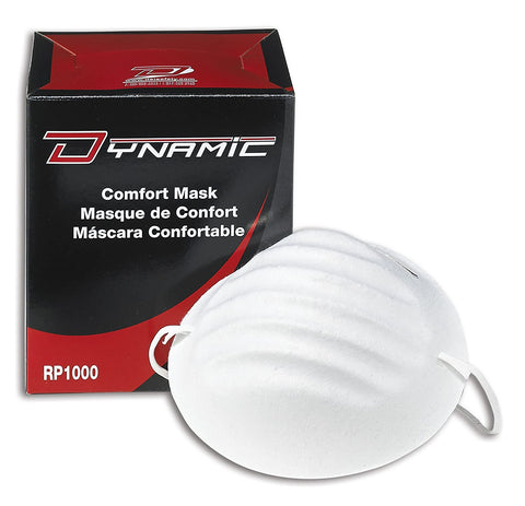 DYNAMIC DISPOSABLE NUISANCE DUST MASK (BOX)