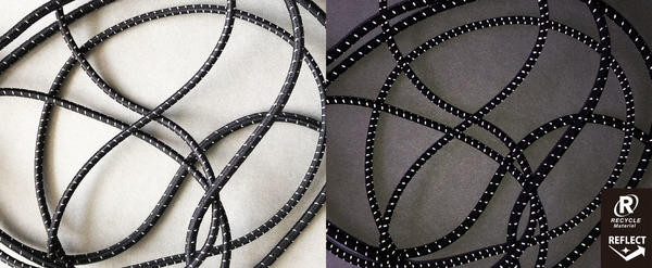 REF-3148 / RECYCLED POLYESTER ELASTIC CORD(Reflect)