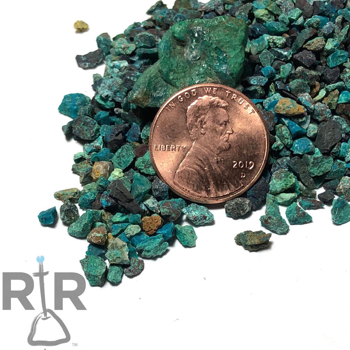 Arizona Chrysocolla - Extra Large Sand
