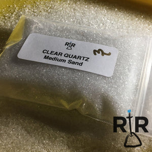 Clear Quartz - Medium Sand