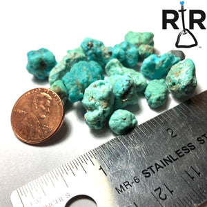 New Mexico Blue Turquoise Nuggets