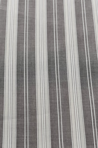 Grey Striped Swiss Filtex (5 yards)