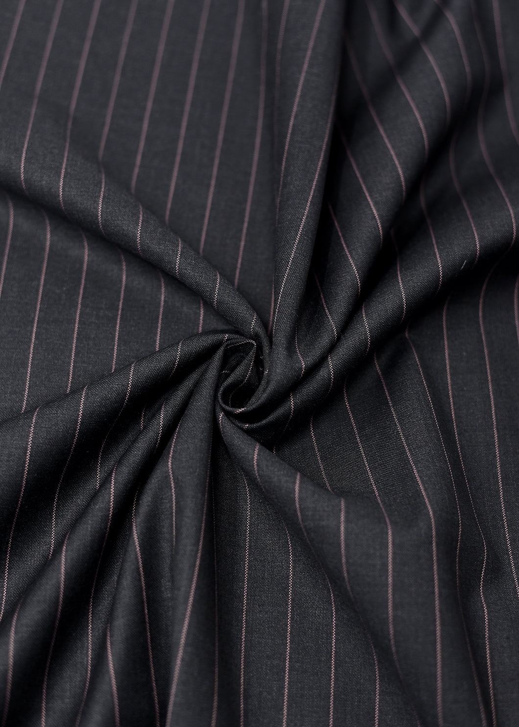 Black  Beige Pin Striped Cashmere 220 (N6,000 Per Yard)