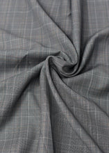 Load image into Gallery viewer, Grey Checked Cashmere 180 (N5,000 per yard)