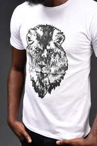 MDFC Silver Lion Head T-Shirt