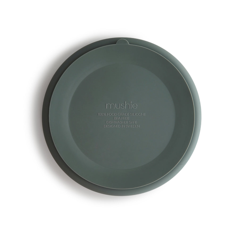 Silicone Suction Plate (Dried Thyme)
