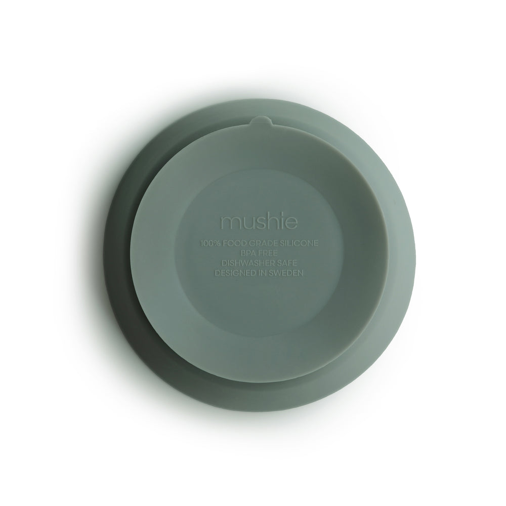 Silicone Suction Bowl (Cambridge Blue)