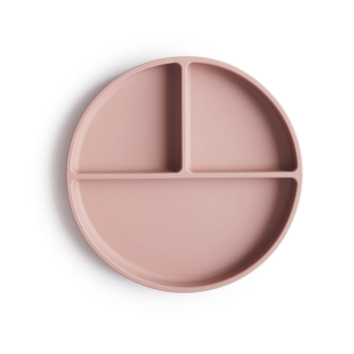 Silicone Suction Plate (Blush)